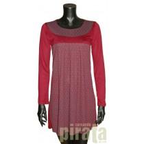Vestido M/Larga 7078