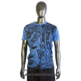 Camiseta m/Corta Hombre 19
