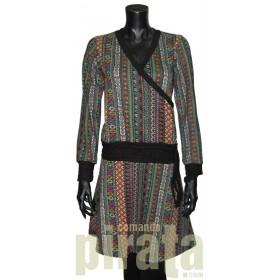 Vestido M/Larga Modelo 004