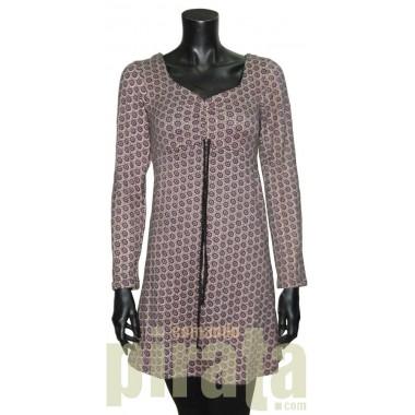 Vestido M/Larga Modelo 005