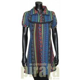 Vestido M/Corta Modelo 010