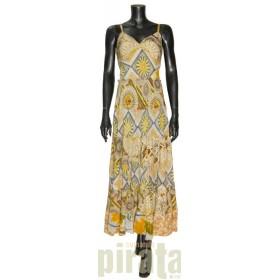 Vestido Largo Seda 2698