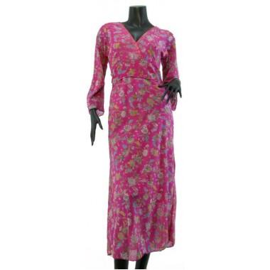 Vestido Kimono Seda