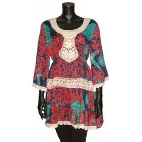 Vestido Corto 7109