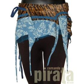 Minifalda Pareo Especial 001 (Azul)