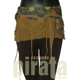 Minifalda Pareo Especial 001 (Verde Army)