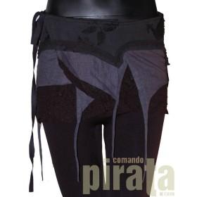 Minifalda Pareo Especial 001 (Negro)